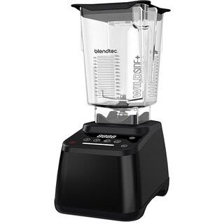 Blendtec Designer 625 Designer Black Blender with WildSide+ Jar (Certified Refurbished)