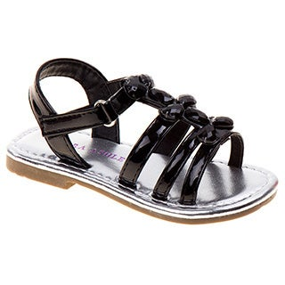 Laura Ashley Toddler Girls' Gem Strappy Sandals
