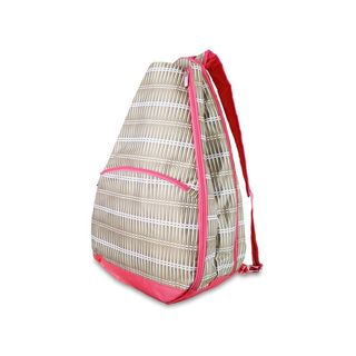 All For Color Khaki Rattan Tennis Backpack