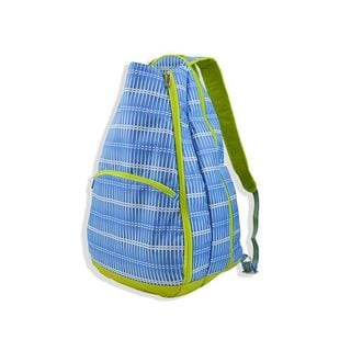All For Color Blue Rattan Tennis Backpack
