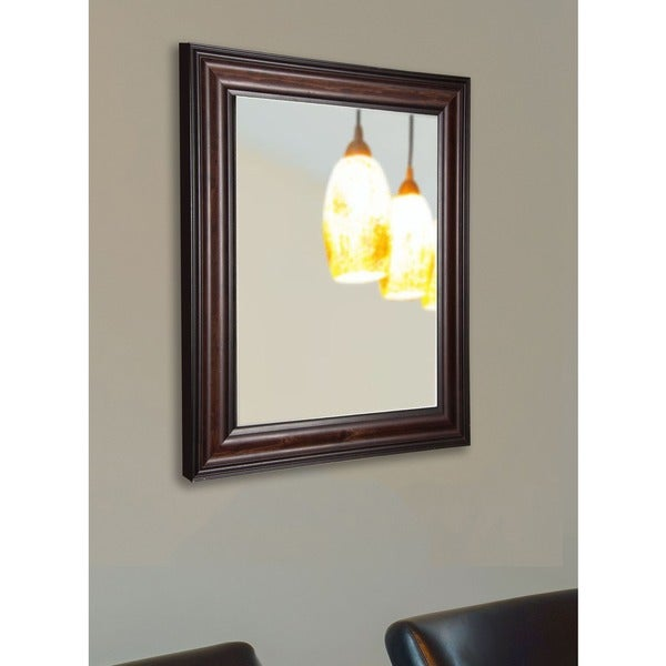 American Made Rayne American Walnut Wall Mirror 17652667
