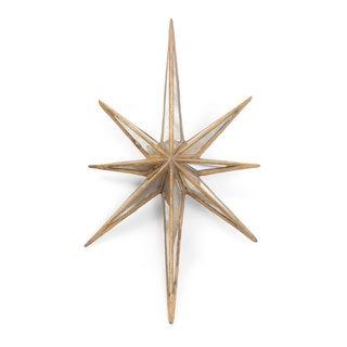Hip Vintage Antique Gold Twinkle Star