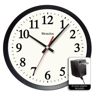 "Westclox 14"" Electric Powered Office Wall Clock"