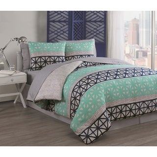 Madison Park Essentials Concord Reversible 9 Piece Bed In