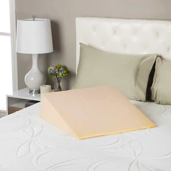 beautyrest comforpedic loft bed wedge foam pillow