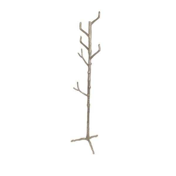 Inspired Green Living Branch Aluminum 70-inch Coat Rack