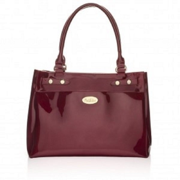 Kim Red Leather Handbag