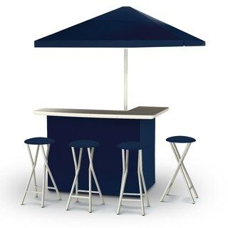 Best of Times Solid Colors Portable Deluxe Bar