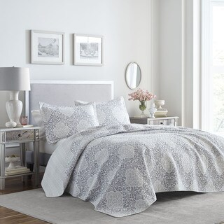 Laura Ashley Winnie Cotton Quilt Set