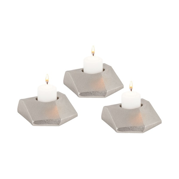 Dimond Home Trope Tea Light Holders (Set of 3)