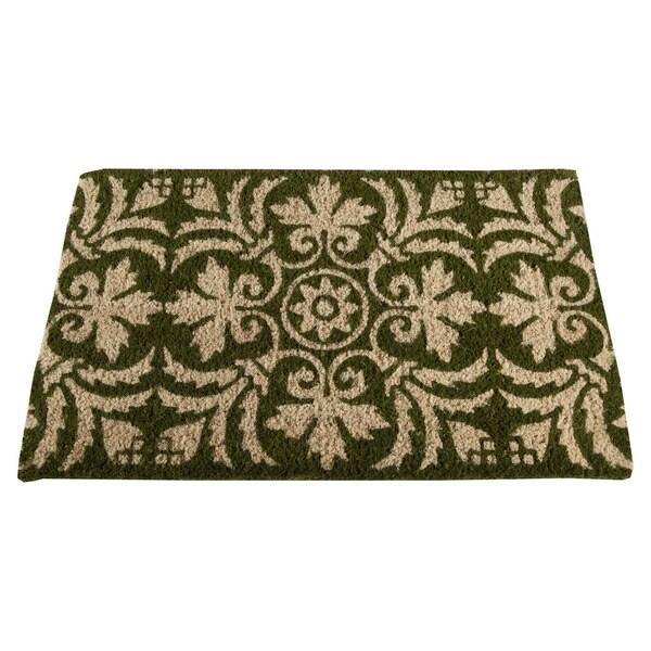 TAG Green Fleur Coir Mat