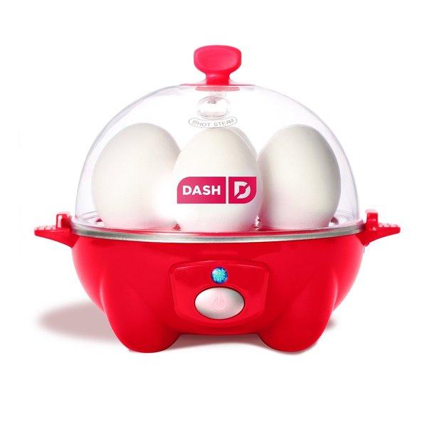 Dash DEC005RD Go Rapid Red 6 Egg Cooker 17655079