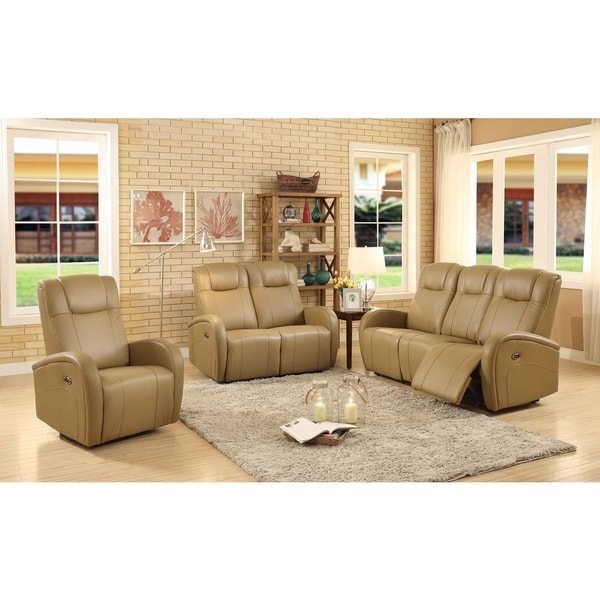 leather power reclining living room sets easy living swiss leather 3 piece power reclining living