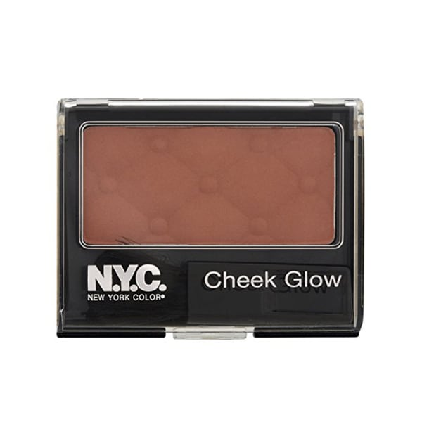 NYC Cheek Glow Riverside Rose Powder Blush