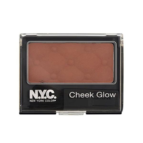 NYC Cheek Glow Riverside Rose Powder Blush