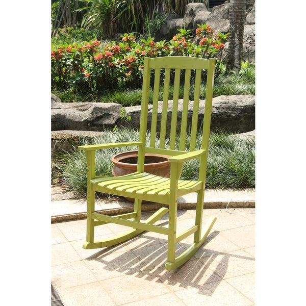 Alston Green Porch Rocker