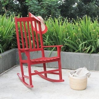 Alston Red Porch Rocker