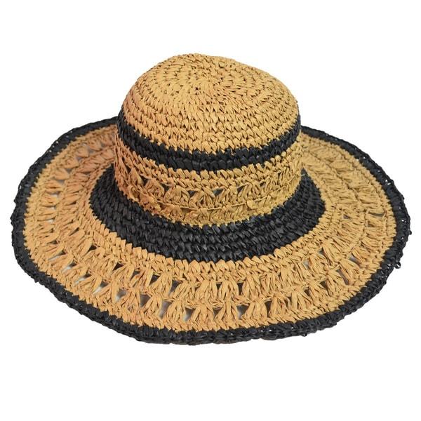 LA77 Women's Floppy Paper Straw Hat