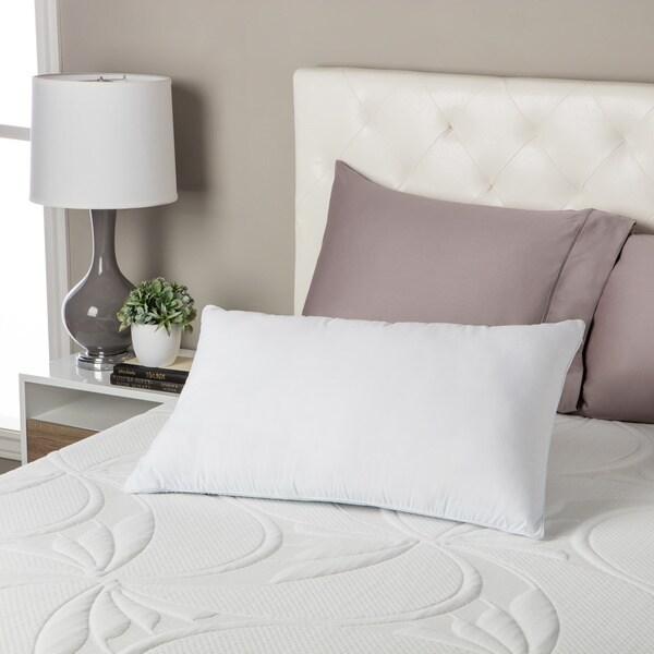 Beautyrest Comforpedic Loft Reversible Fiber and Gel Memory Foam Pillow