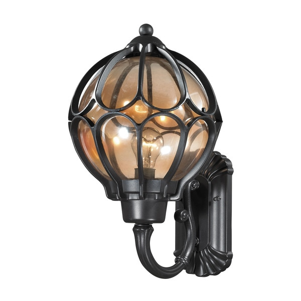 Elk Madagascar Hazelnut Bronze 1-light 19-inch Outdoor Sconce