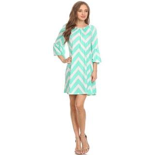 MOA Collection Women's Chevron Dress