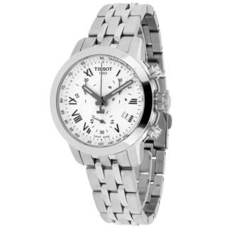 Tissot Women's T0552171103300 PRC200 Round Silver-tone Stainless Steel Bracelet Watch