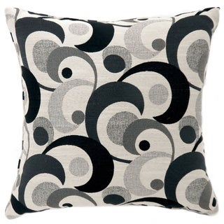 Furniture of America Serena Swirling Patterned Throw Pillow (Set of 2)