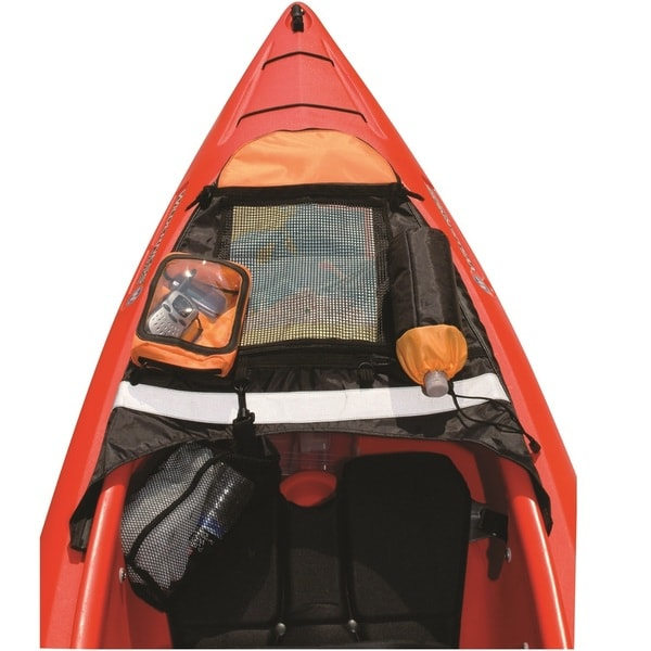 Tempress XPak Kayak Cockpit Deck Caddy Orange/Gray