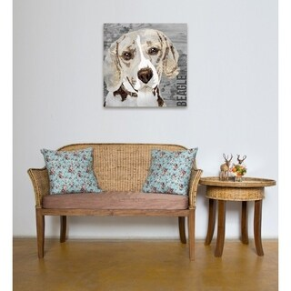 Oliver Gal 'Love My Beagle' Canvas Art