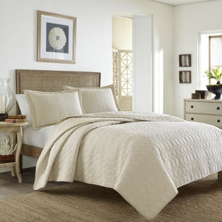 Tommy Bahama Catalina Cloud Dune Quilt Set