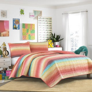 Teen Vogue Electric Beach Quilt Set