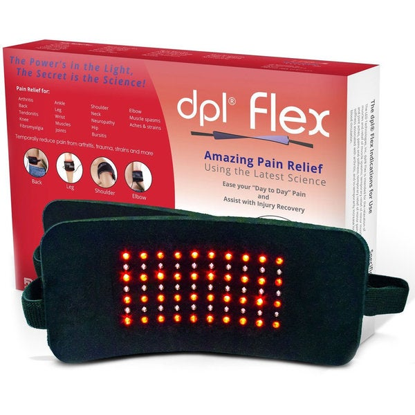 DPL FlexPad Pain Relief System for Back and Knee Pain