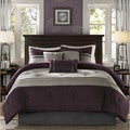 Madison Park Kennedy Plum Comforter Set