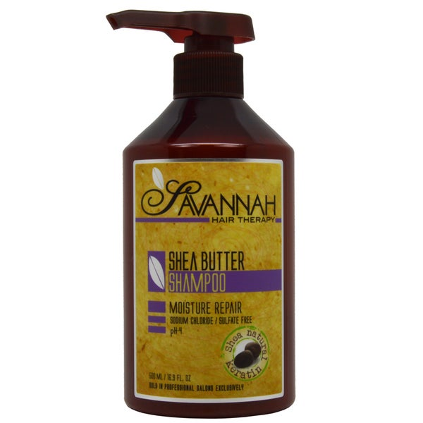 Savannah Hair Therapy 16.9-ounce Shea Butter Shampoo
