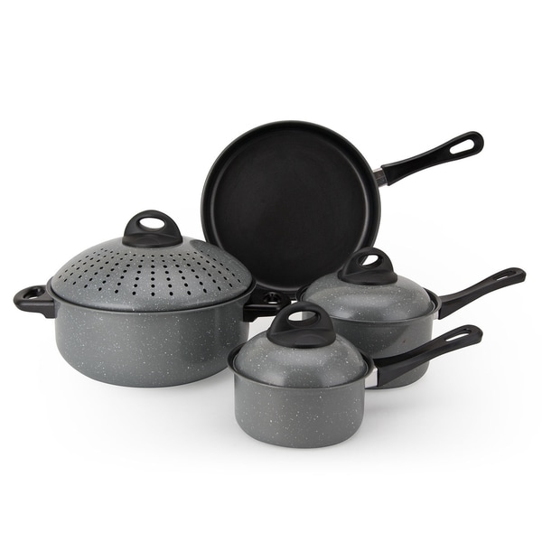 Non-Stick Carbon Steel 7-piece Cookware Set