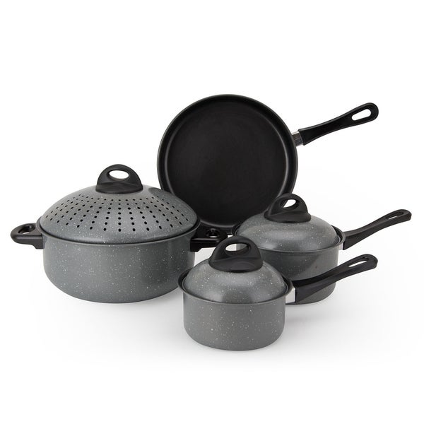 Non-Stick Carbon Steel 7-piece Cookware Set
