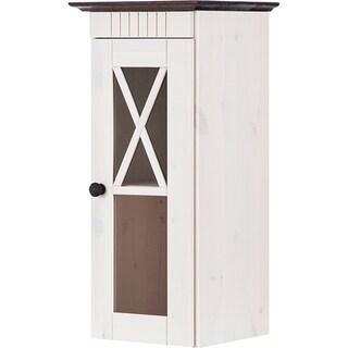 Cornelia Solid Pine Bath Wall Cabinet with 1 Door