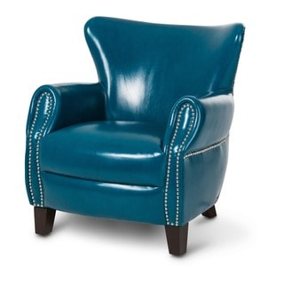 Bladon Leather Accent Chair in by Michael Amini