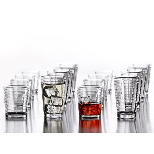 Uptown Glasswar (Set of 16) 17661729