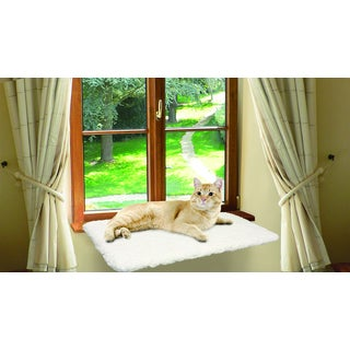 Unique Petz Window Mounted Plush Pet Perch