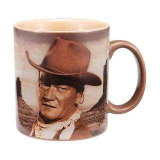"""John Wayne """"A Mans Gotta Do"""" 12oz Ceramic Coffee Mug"""