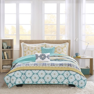 Intelligent Design Elle 5 Piece Coverlet Set 16800018