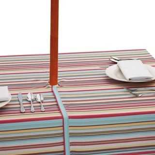 Stripe Umbrella Tablecloth