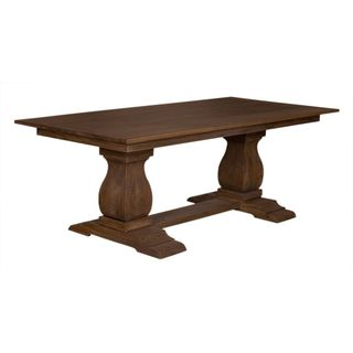 The Gresham Trestle Solid Wood Dining Table