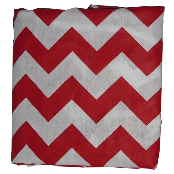 Chevron Crib and Toddler Sheet