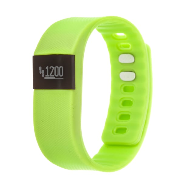 Zunammy Green Activity Tracker Watch with Call and Message Reminders