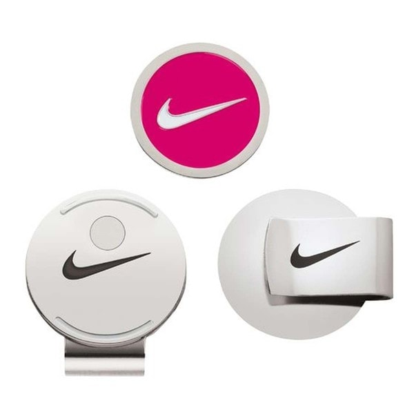 Nike Golf Hat Clip and Ball Marker (Pink)