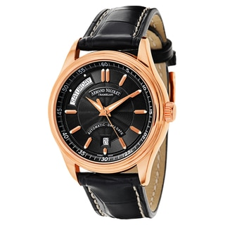Armand Nicolet Men's 7141A-NR-P914NR2 Leather Watch
