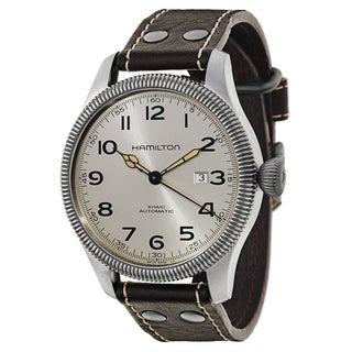 Hamilton Men's H60515593 Leather Watch