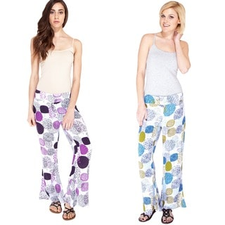 Funky Floral Summer Bell Bottoms (Indonesia)